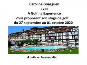 Stage en Normandie du 27 Septembre au 1 Octobre 2020